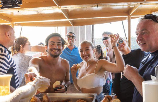 pirate ship blue lagoon people