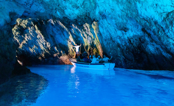 Guide to blue cave tour