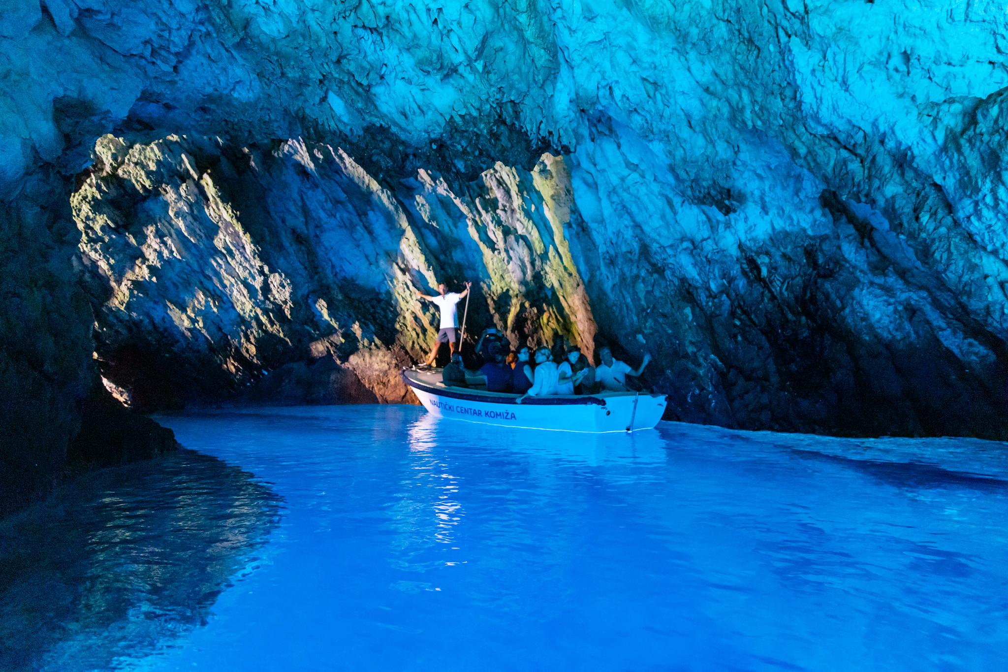 Blue Cave Covid Tour