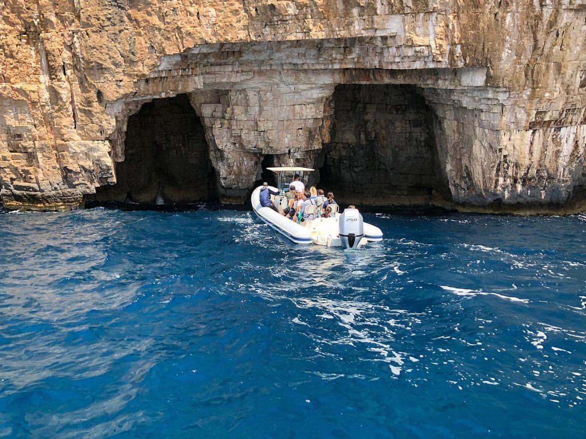 Blue Cave Tour Speed Boat
