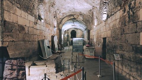 Diocletian's Basements
