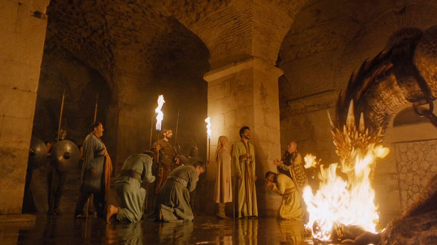 Game of Thrones Split Diocletian's