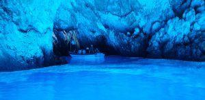 biševo island blue cave